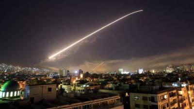 Syrian military intercepts suspected Israeli target near Damascus