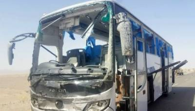 Three foreigners among six injured in blast targeting bus in Balochistan