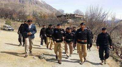 Three police officials martyred, two terrorists killed in Gilgit