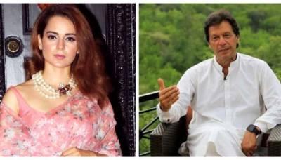 Top Bollywood actress Kangana Ranaut sends a special message to PM elect Imran Khan