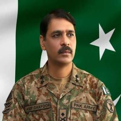 DG ISPR Major General Asif Ghafoor honoured on independence day
