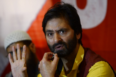 'No one will be allowed to turn Kashmir into another Palestine' : Yasin Malik