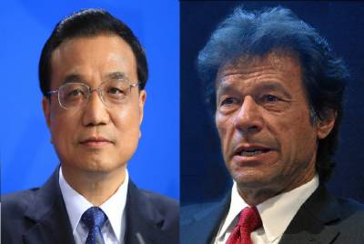 Chinese premier felicitates Imran, wishes to deepen cooperation