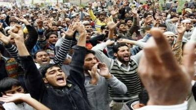 India's desighs in IOK will be frustrated