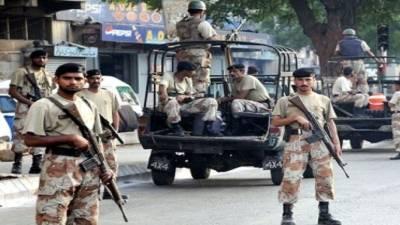 Rangers arrest 5 accused in Karachi