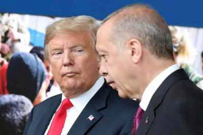 Turkish President Tayyip Erdogan refuse to surrender before America