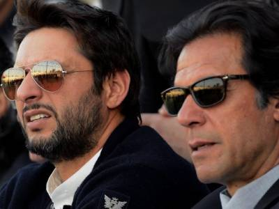 What Shahid Afridi said about PM Imran Khan today?
