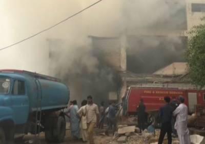 Karachi supermarket fire put out after seven-hour struggle