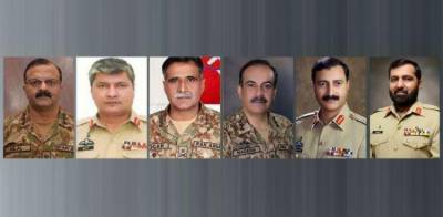 Pakistan Army makes top level transfers and postings, several Corps Commanders reshuffled