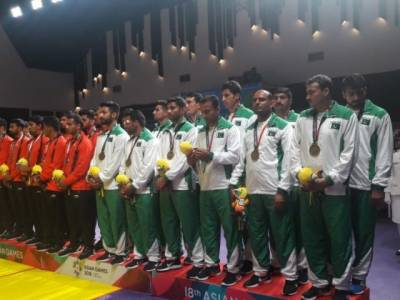 Pakistan wins first medal at the Asian Games 2018