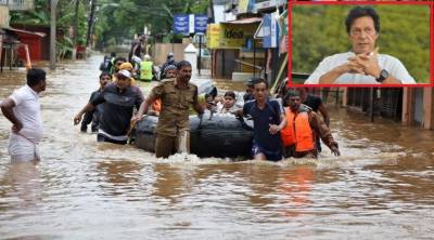 PM Imran expresses deep grief over loss of lives in India floods