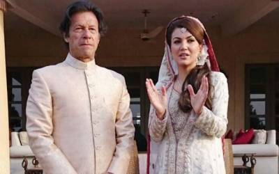 Reham Khan breaks silence over the issue of being the first lady