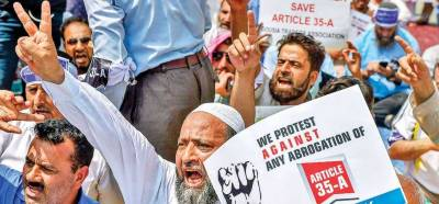 Kashmiris to fight against any proposed tinkering with Article 35-A unitedly: APHC