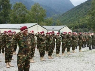 Pakistan India Militaries kick off historic joint drills in Russia