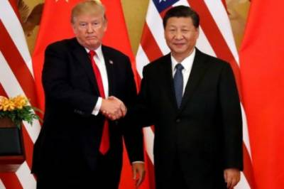 President Donald Trump lashes out at China