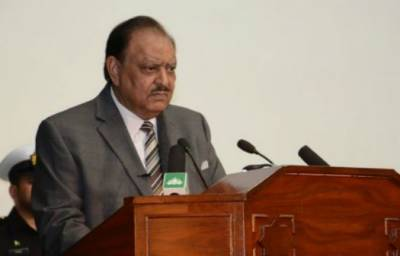 President Mamnoon Hussain calls for accountability of corrupt people