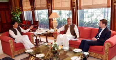 US Ambassador pays farewell call on PM Imran