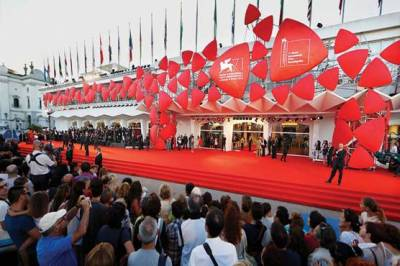 Global Venice film festival hit with a controversy