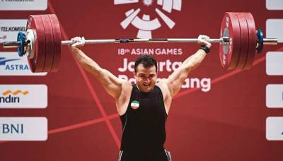 Iran's Sohrab Moradi creates history in Asian Games 2018