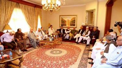 Opposition parties' conference decides to field a joint candidate for presidential election