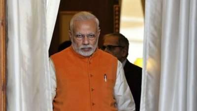 PM Narendra Modi faces a setback