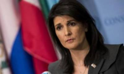 US Ambassador Niki Haley revelation in UNSC over ISIS (K) is a source of concern for Pakistan too