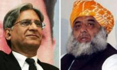 Alvi's position strong as opposition nominate Aitzaz, Fazl for president