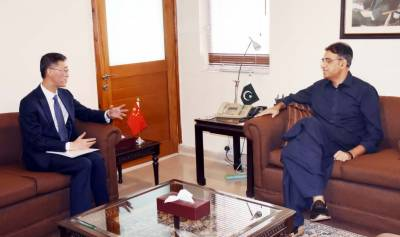 Finance Minister Asad Umar holds important meetings with Saudi - Chinese Ambassador