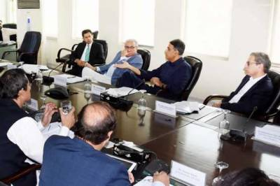 Finance Minister Asad Umer chairs important meeting at Economic Affairs Division