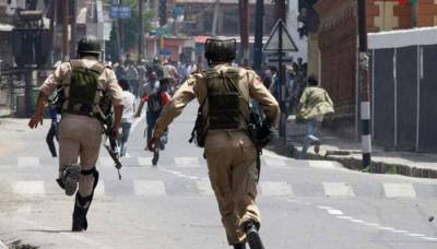 Indian troops use brute force against peaceful protest of Kashmiris