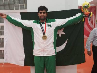 Pakistan's Nadeem Arshad clinches yet another medal for the country in Asian Games 2018