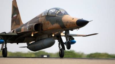 Pilot killed in Iran F-5 fighter jet crash