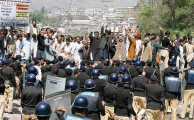 PTI government to face first long march cum lockdown of capital Islamabad