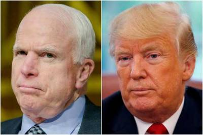 Senator John McCain last wish was about Donald Trump and it's shame for President