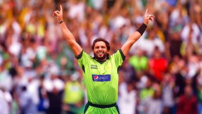 Shahid Afridi reveals the name of Indian who gave him the title of