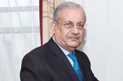 Did PPP Senator Raza Rabbani defend PM Imran Khan against US government onslaught?