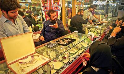 Gold prices rise drastically in Pakistan