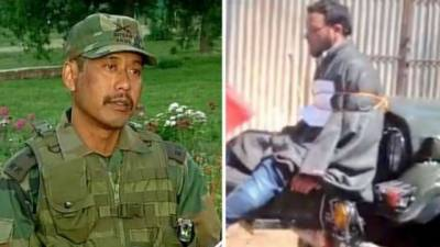 Infamous Indian Army Major Nitin Gogoi indicted by Court Martial Inquiry