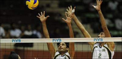Pakistan thrashes India in the Asian Games volleyball quarter final
