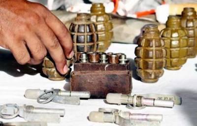 FC foils terror bid, seizes ammunition in Balochistan