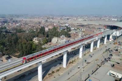 Orange Line Metro Train project inauguration revealed
