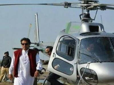 PM Imran Khan used helicopter only twice and it seems to be the biggest problem of Pakistani media