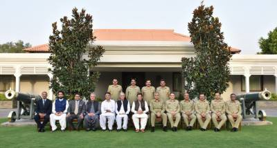 PM visits GHQ, says challenges to be overcome with cooperation of nation & armed forces