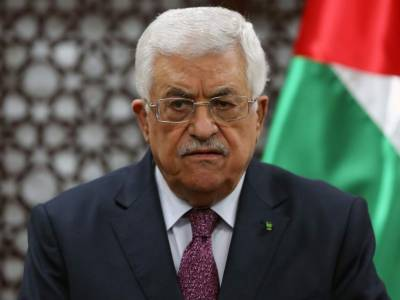 Palestinian President denounces US decision to halt funding