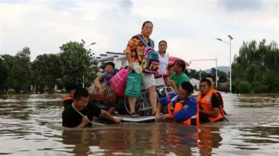2 killed as heavy rain wreaks havoc in China