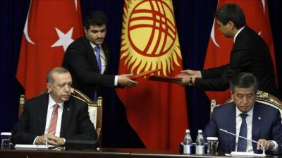 Erdogan discusses Fetullah organization issues with Jeenbekov