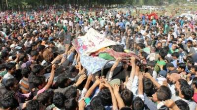 Indian troops martyr three Kashmiri youth in IOK