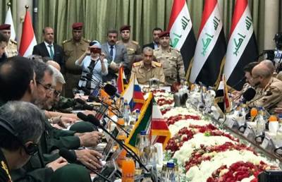Iraq hosts military chiefs from Iran, Russia and Syria