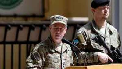 US General Scott Miller takes over command of NATO forces in Afghanistan