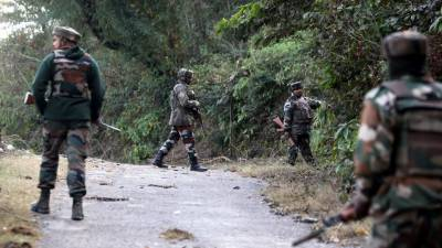 Indian troops launch massive search operations in Pulwama